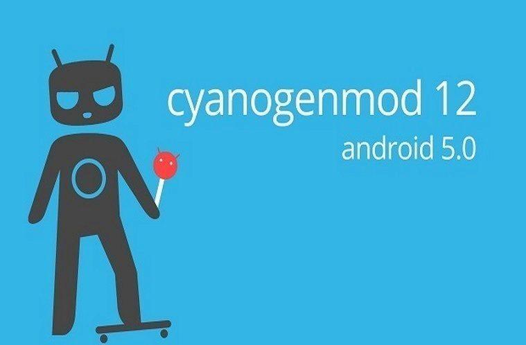 cyanogenmod 12 hlavni