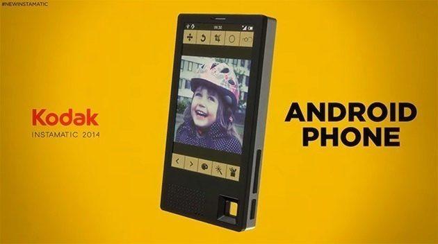 Kodak představí na veletrhu CES řadu zařízení s Androidem