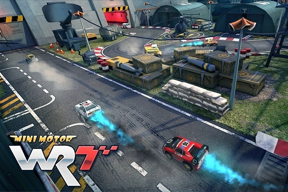 mini motor racing hlavni 2
