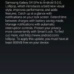 Samsung Galaxy S4 GPE dostává aktualizaci na Android 5.0 Lollipop