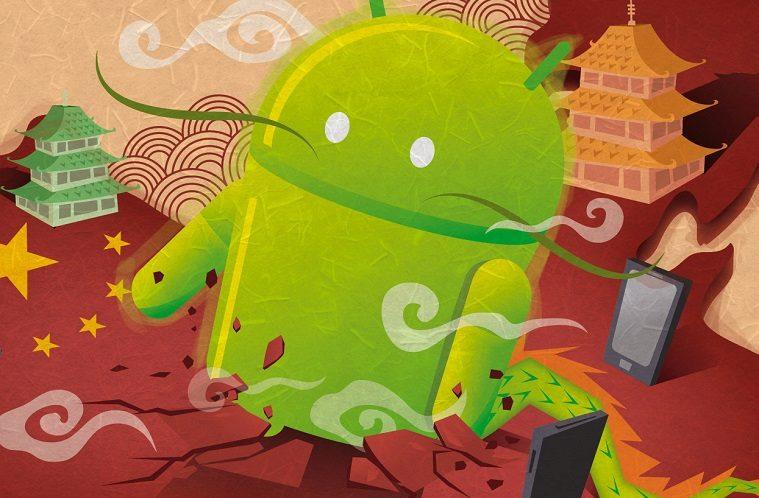 smartphony z ciny