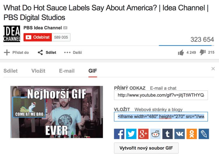 youtube gif videa