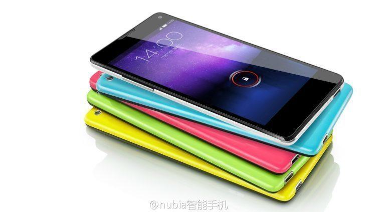 čínské telefony ZTE-Nubia-Z5S-Mini