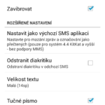 Smart Notify – SMS a volání