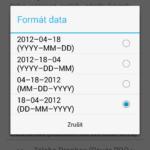 Formát data