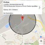 Reminders @ Location – vytvoření místa