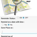 Location Reminder – zadání připomínky