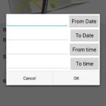 Location Reminder – omezení časem
