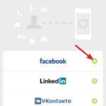 Zvolte sociální sítě