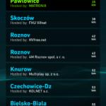 Výběr serveru