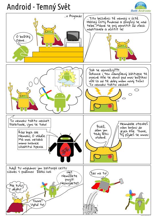 Android komiks