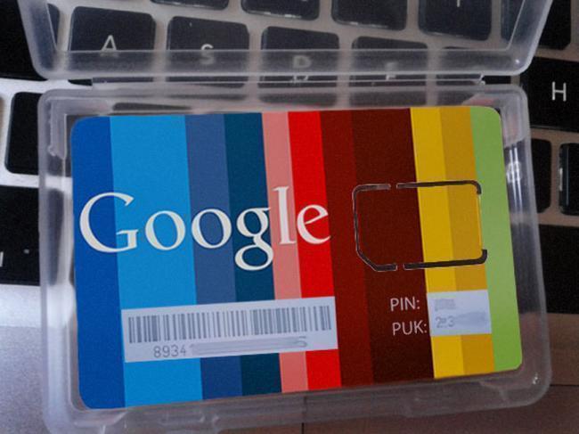 Google-SIM-nova