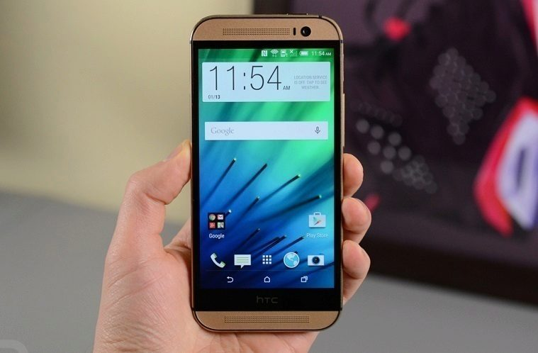 HTC One (M8) lollipop titul