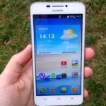 Huawei Ascend G630 displej
