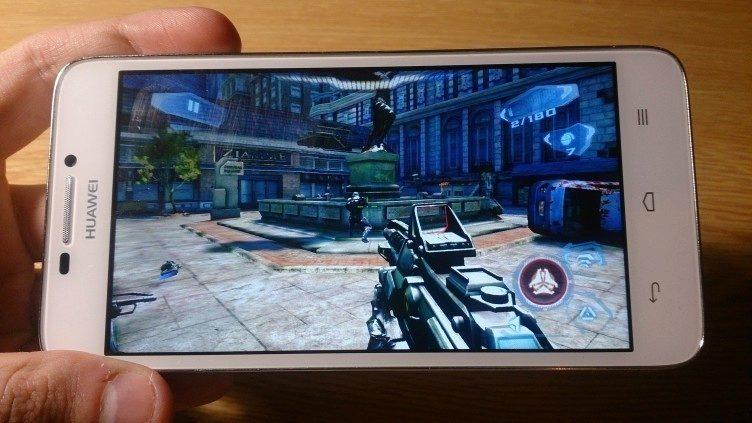 Huawei Ascend G630 - herní výkon, N.O.V.A 3