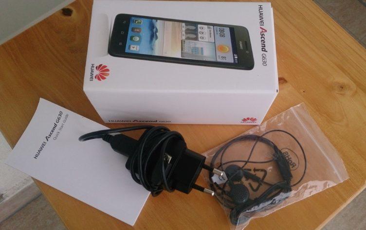 Huawei Ascend G630 - obsah balení