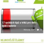 Huawei Ascend G630 – test baterie, procházení webu 2