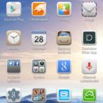 Huawei Ascend G630 – uživatelské prostředí, aplikace