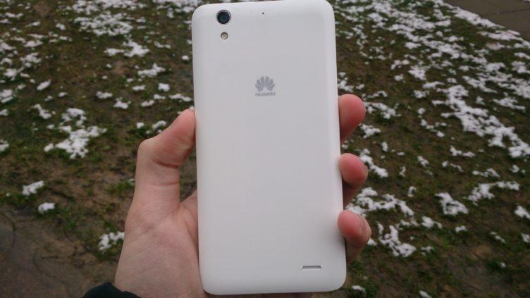 Huawei Ascend G630 - záda telefonu