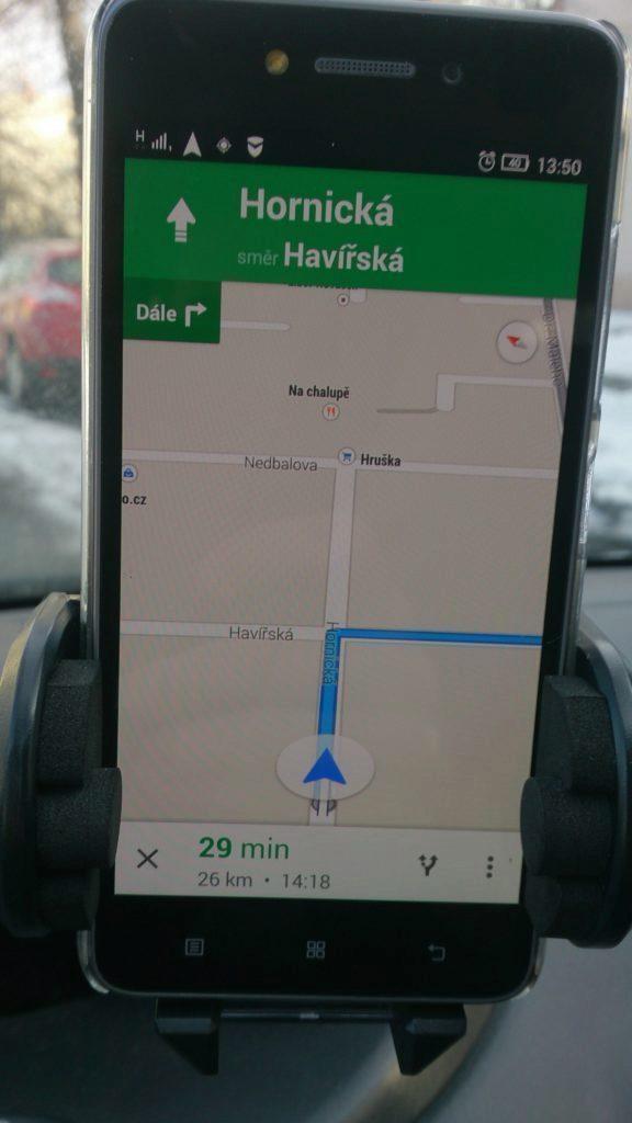 Lenovo S90 - GPS,  Google Mapy