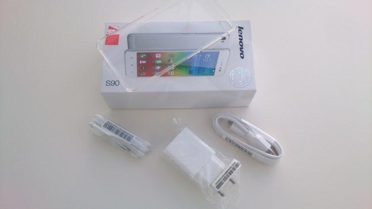 Lenovo S90 - obsah balení