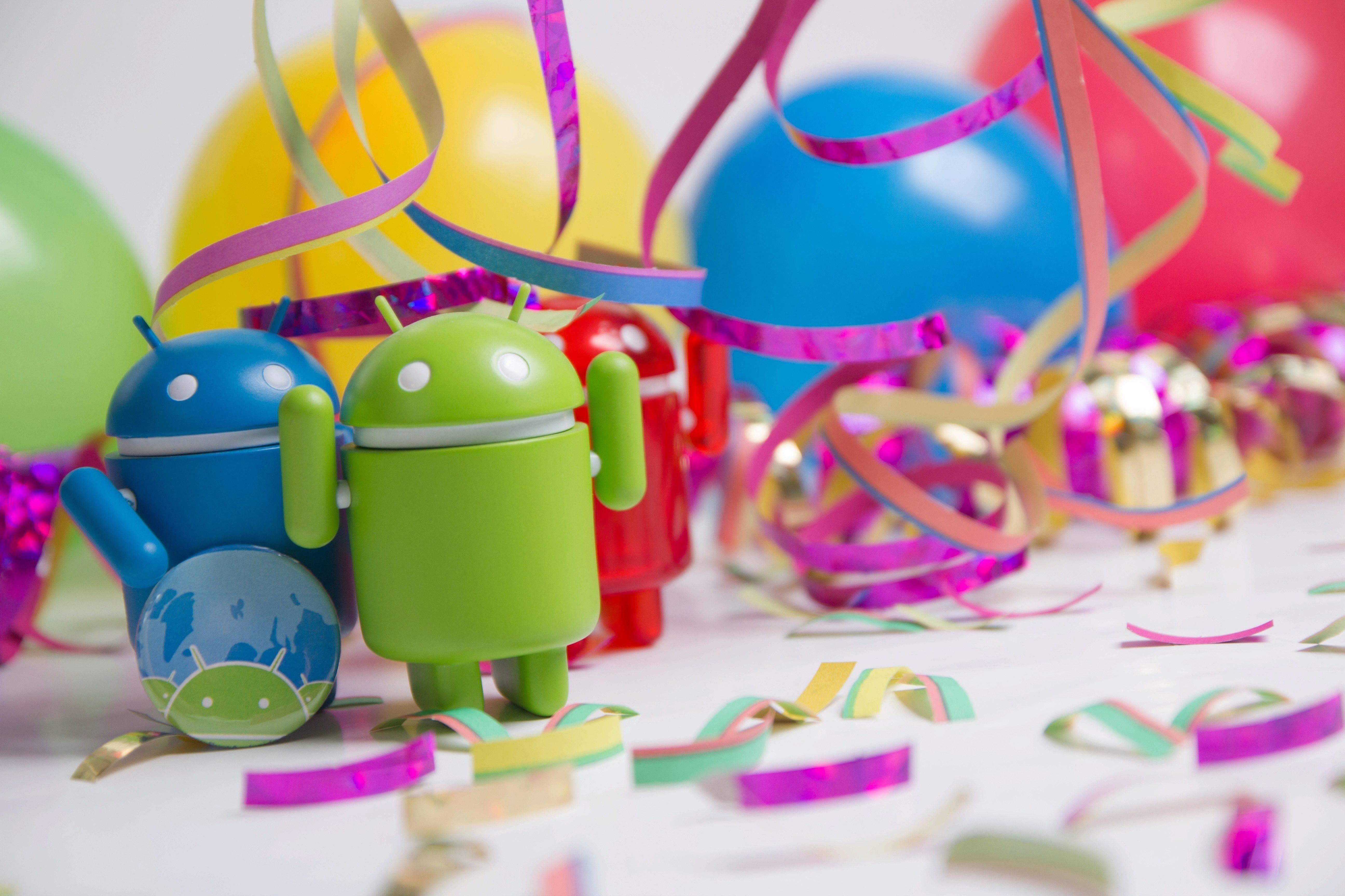 Svět Androida narozeniny pět let 1