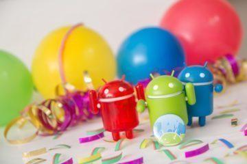 Svět Androida narozeniny pět let