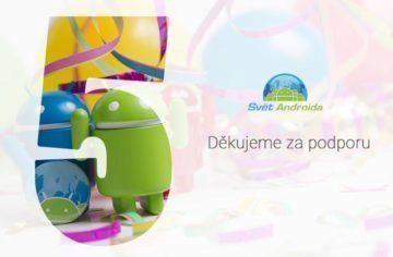 Svět Androida pět let