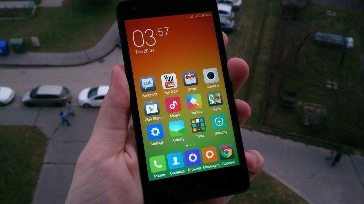 Xiaomi Redmi 2 - displej