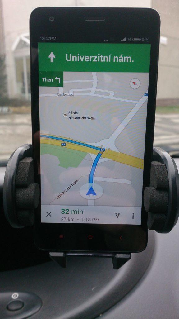 Xiaomi Redmi 2 - test GPS