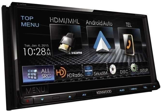 android auto kenwood