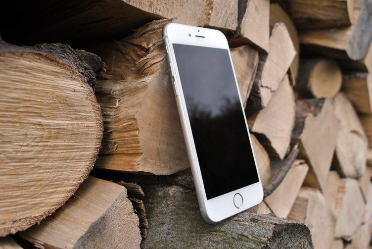 iPhone 6 pohled zepředu