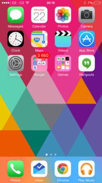 iPhone 6 ukázka prostředí 1