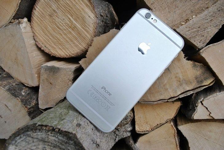 iPhone 6 zadní strana 1