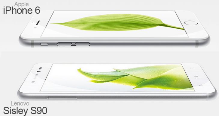 lenovo s90 vs iPhone 6