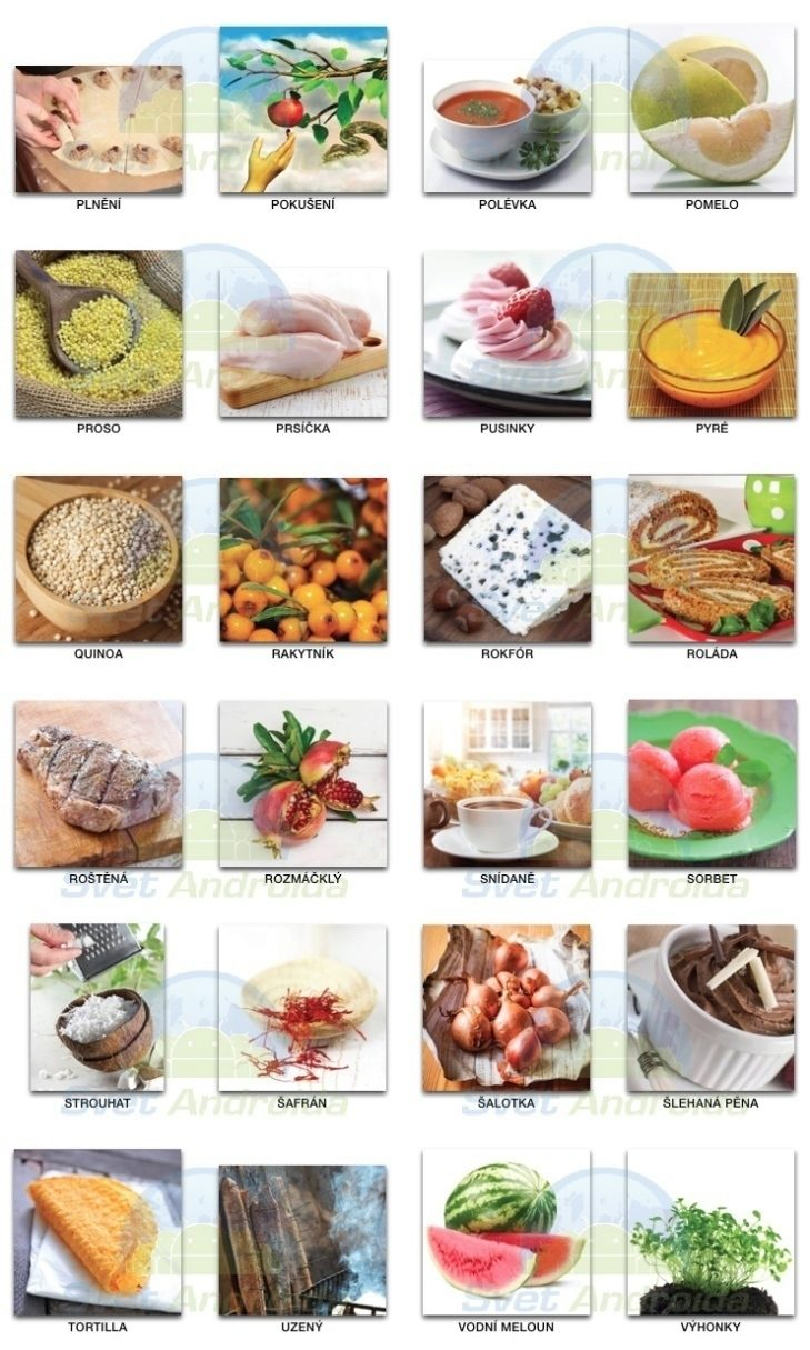 pixwords_jídlo 2