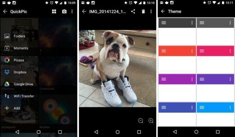 quickpic 4.0 android aplikace