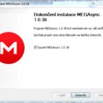 Instalace desktopové aplikace MEGAsync na Windows