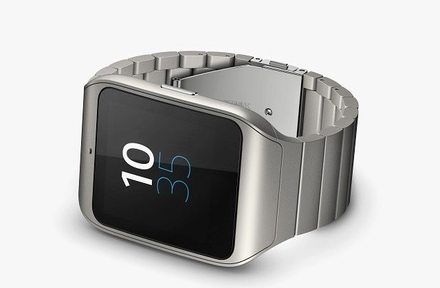 sony smartwatch 4 top