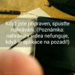 Nahrávání videa