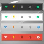 Barevné motivy widgetů