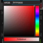 Nastavení barev tlačítek
