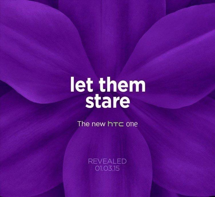 Pozvánka na představení HTC One M9