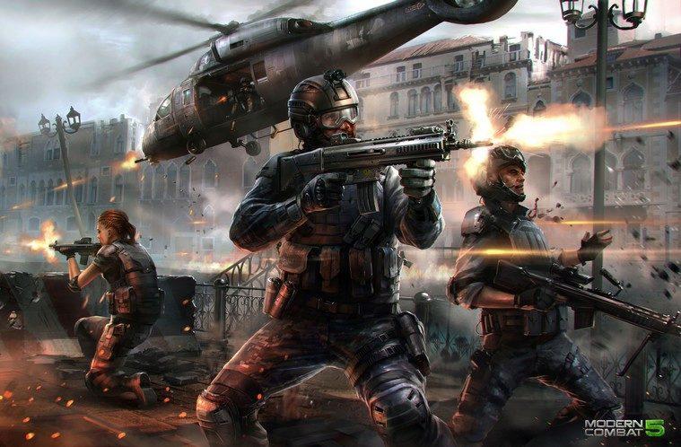 Modern-Combat-5-Gameloft