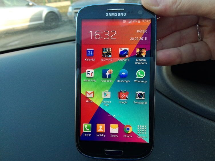 Samsung Galaxy S3 Neo - displej
