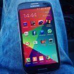 Samsung Galaxy s3 neo – přední strana 2