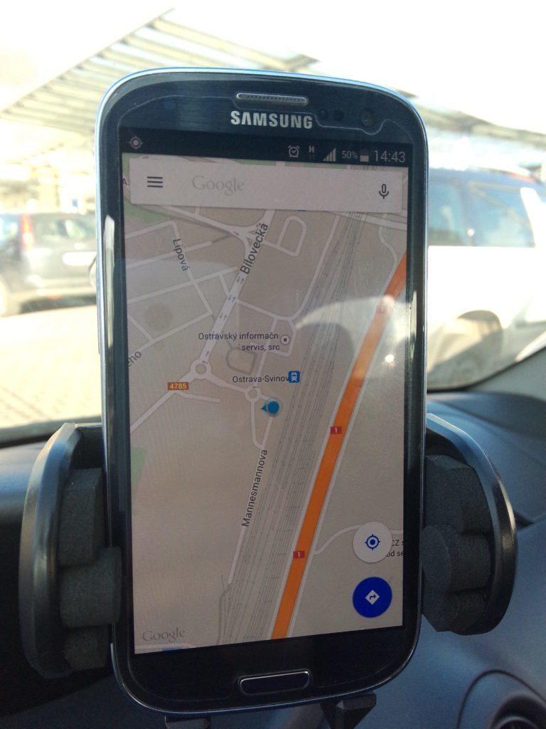 Samsung Galaxy S3 Neo - testování GPS