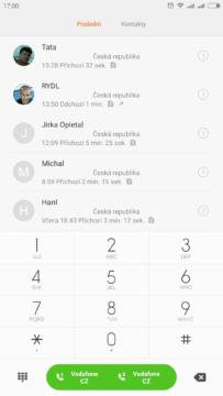 T9 Vyhledávání kontakty (2)
