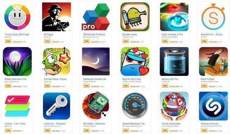 amazon aplikace zdarma