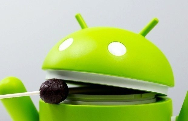 android lollipop hlavni